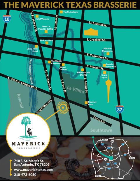 Maverick Restaurant | Southtown San Antonio Texas Brasserie