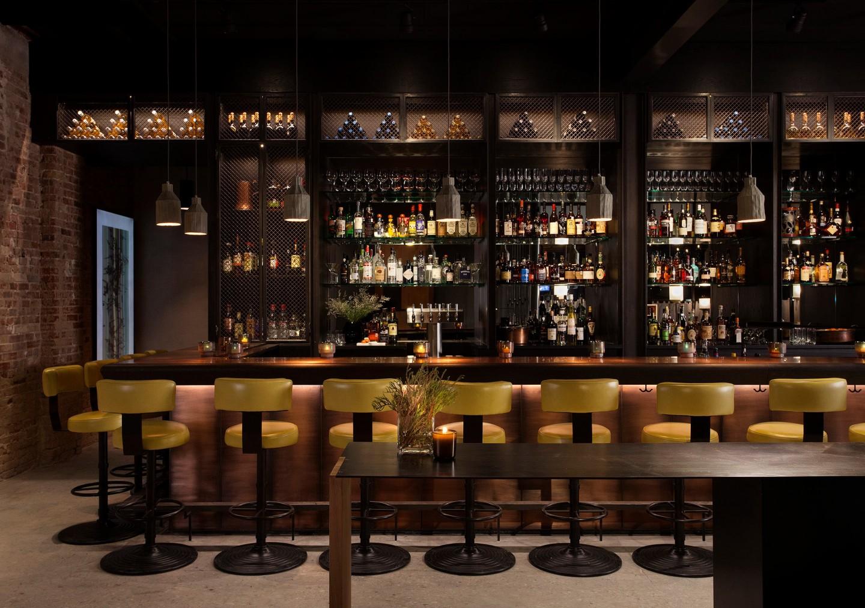 Bar at Maverick Restaurant